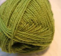 Finullgarn grön 455